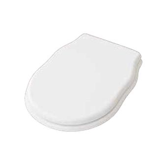 Artceram HERMITAGE Сиденье для унитаза цвет белый с микролифтом, шарниры бронза