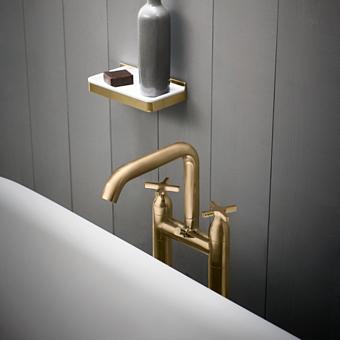 Agape Memory Смеситель для ванны, напольный, цвет: полированая латунь