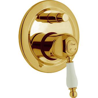 CISAL Arcana Empress Встраиваемый однорычажный смеситель для ванны/душа, цвет золото