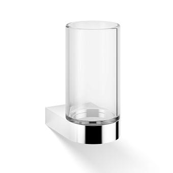 Decor Walther Century WMG Стакан подвесной, прозрачное стекло, цвет: хром