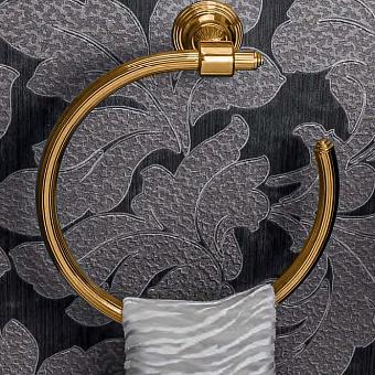 Colombo Hermitage Полотенцедержатель-кольцо, золото
