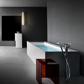 Laufen Kartell Ванна 1700x860x440мм, свободностоящая, с слив-переливом с подсветкой, сист. подъема, материал: композит, цвет: белый