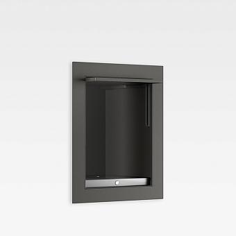 Armani Roca Island Встраиваемый шкафчик 20x16.7xh25см для выдвижного душа (Арт. 75A6776..0) или гидроершика (Арт. 75B9076..2), цвет: nero