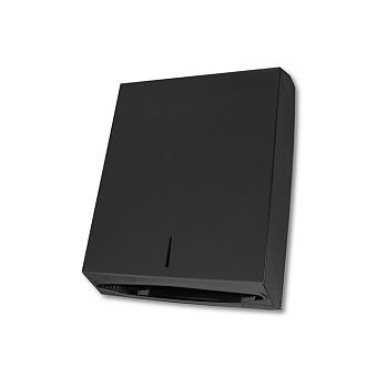 3SC Hotel Контейнер для бумажных полотенец, настенный, цвет: черный матовый
