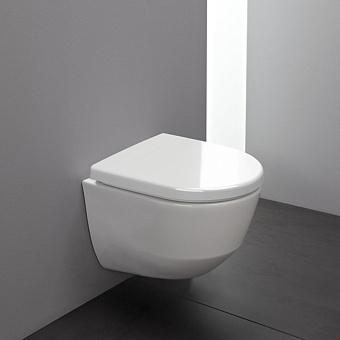 LAUFEN Pro Унитаз подвесной безободковый, укороченный 49х36х34см., цвет белый