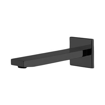 Carlo Frattini Fit Излив для настенного монтажа 201мм, цвет: черный матовый