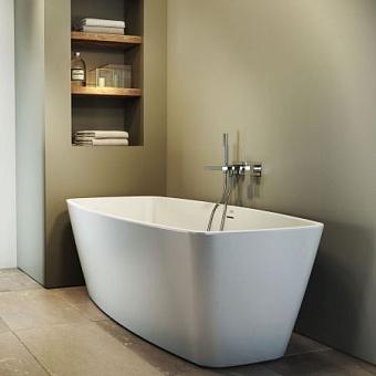 Jacuzzi Esprit Ванна 170x80x57 см без смесителя, без наполнения, цвет белый-хром