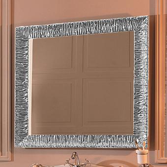 KERASAN Retro Зеркало 100x100см, цвет: серебро состаренное
