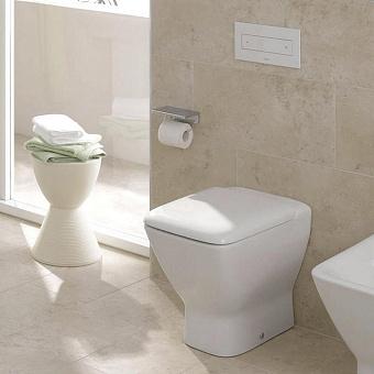 Laufen Palace Унитаз напольный 56х36х43 см, выпуск универсальный, цвет: белый