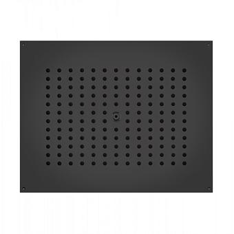 BOSSINI DREAM-CUBE  Верхний душ 370 x 370 мм, цвет: черный матовый