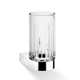 Decor Walther Century WMG Стакан подвесной, граненое стекло, цвет: хром
