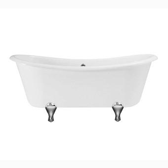 Ванна Gentry Home Bateau отдельно стоящая 165х71хh56 см на ножках