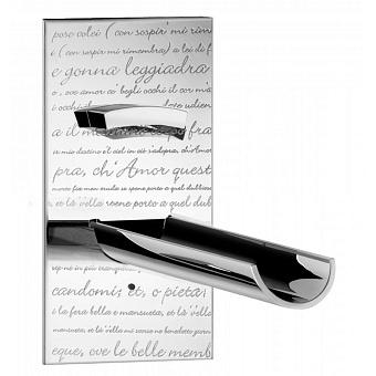 Bongio Acquaviva parole Встраиваемый смеситель для раковины, излив, цвет: хром
