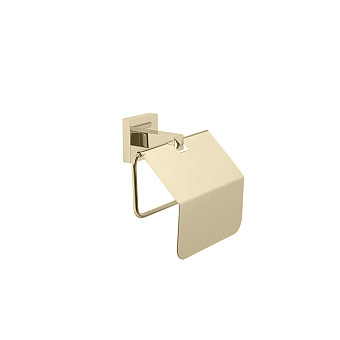 StilHaus Urania Держатель для туалетной бумаги, закрытый, подвесной, цвет: никель сатинированный