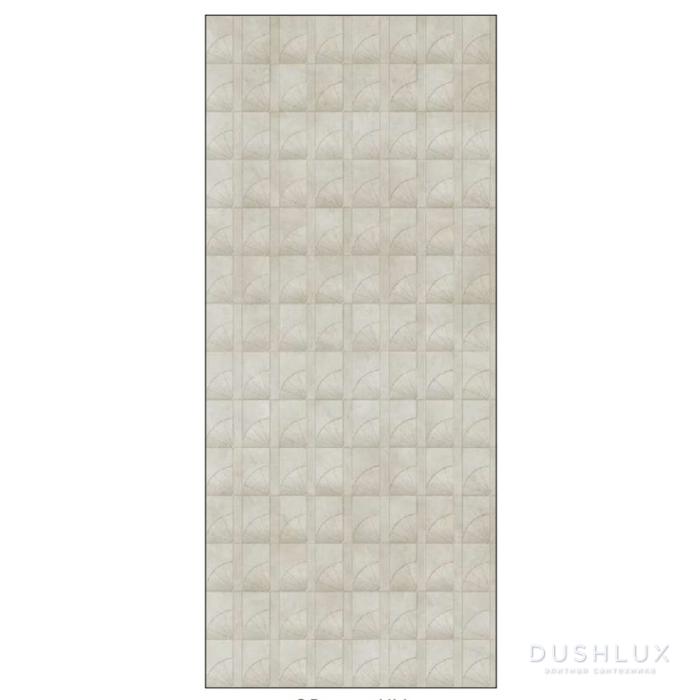 Ornamenta Operae Керамическая плитка 120х278см, настенная, декор: Helix Ivory