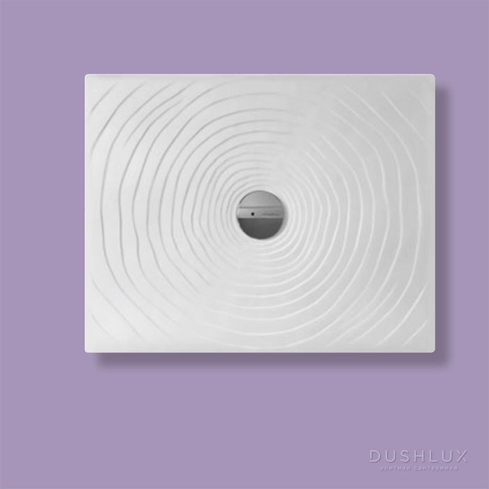 Flaminia Water Drop Душевой поддон 90x72xh5.5см, цвет: bianco