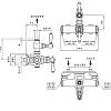 Nicolazzi Termostatico Термостатический смеситель, вывод сверху 3/4, цвет: золото 24к