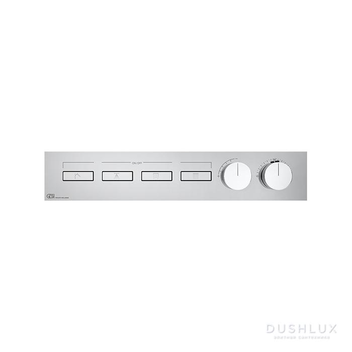 Gessi Hi-Fi Термостат для душа, с включением до 4 источников одновременно, цвет: хром