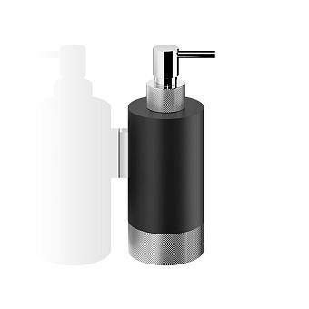 Decor Walther Club WSP1 Дозатор для мыла, подвесной, цвет: черный матовый / хром