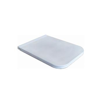 Azzurra Build Сиденье быстросъемное для унитаза, с микролифтом, цвет белый/хром