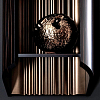 Karol Bania Открытый подвесной пенал 40х21хh110 см. цвет: Ebano + Lucido Bronzo Anticato