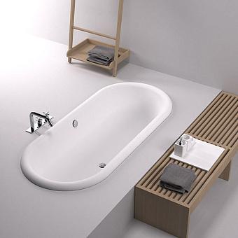 Agape Ottocento Ванна встраиваемая 178х79х59.5 см, цвет: белая