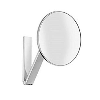 Keuco iLook_move Косметическое зеркало без подсветки, подвесной монтаж, круглое, цвет: хром