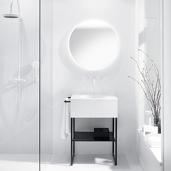 Burgbad Coco Комплект напольной мебели 60x50x87 см, цвет белый