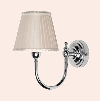 TW Bristol 029, настенная лампа светильника с круглым основанием, цвет: хром, абажур на выбор