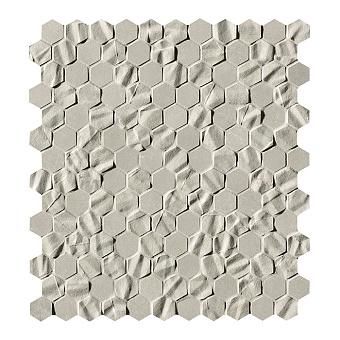 Fap Bloom Керамическая плитка 30,5x30,5см., для ванной, настенная, мозаика, цвет: esagono grey