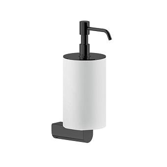 Gessi Rilievo Дозатор для жидкого мыла настенный, цвет: nero XL