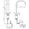 Zucchetti Aguablu Электронный смеситель для раковины на 1 отверстие, цвет: хром