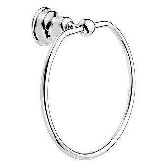 HUBER Croisette Полотенцедержатель - кольцо D215 мм, цвет хром