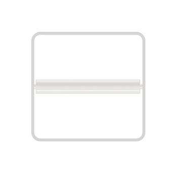 Bertocci Fly Держатель для туалетной бумаги, подвесной, цвет: белый матовый