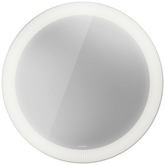 Duravit Happy D.2 Plus Зеркало с подсветкой radial, круглое 700x700x47мм, сенсорное управление