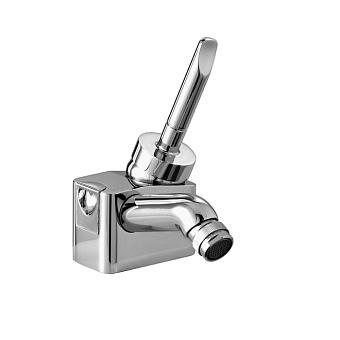 Stella Box Смеситель для биде на 1 отверстие 3604, с донным клапаном, цвет: хром