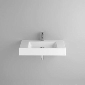 BETTE Aqua Раковина подвесная 80х49.5х12.5 cм, 1 отв., BetteGlasur® Plus, без перелива, с крепежом, цвет: белый
