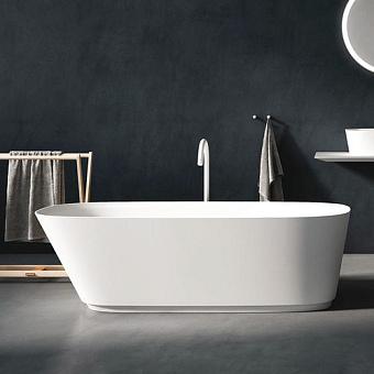 Agape Neb Ванна свободностоящая 170x70x51 см, овальная, цвет: белый