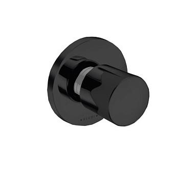 Kludi Balance Запорный вентиль, настенный, цвет: черный матовый
