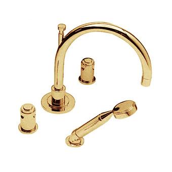 Cristal et Bronze Star Смеситель для ванны, цвет золото 24 к.