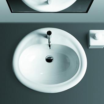 SIMAS Top e lavabi d'arredo Раковина 63х56 см, 1 отв., цвет: белый