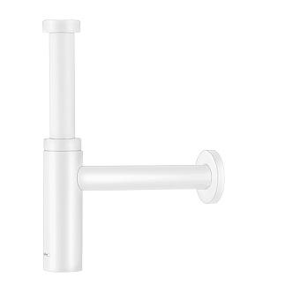Hansgrohe Flowstar Сифон для раковины, дизайнерский, цвет: белый матовый