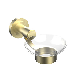 Cristal et Bronze Alliance Мыльница подвесная, цвет золото