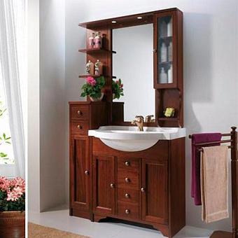 EBAN Eleonora Modular Комплект мебели 107 см (пенал слева), цвет noce