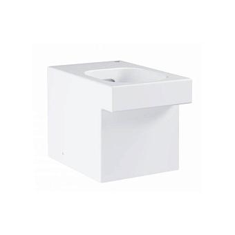 Grohe Cube Ceramic Унитаз 56x38 см, напольный-приставной, слив универсальный, цвет: белый