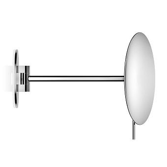 Decor Walther Round SPT 72 Косметическое зеркало 22.4см, подвесное, увел. 5x, цвет: хром