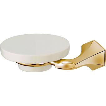 CISAL Cherie Мыльница подвесная, цвет золото/керамика