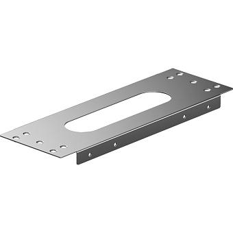 Hansgrohe sBox Монтажная панель для монтажа на плитку, цвет: хром