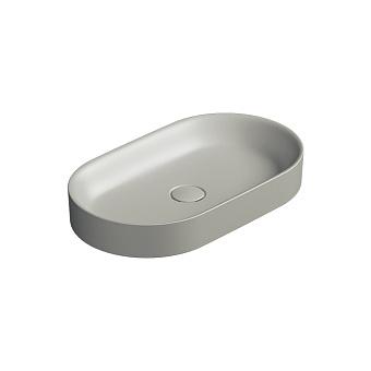 Catalano Horizon Раковина накладная 60х30хh:8.5см., без перелива, цвет: цемент матовый