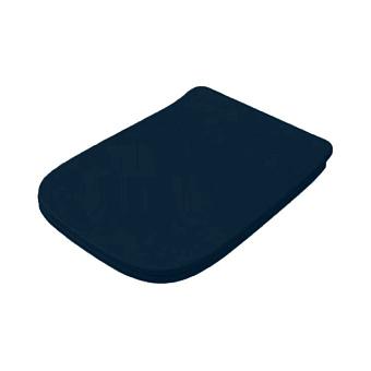 Artceram A16 Сиденье для унитаза с микролифтом, цвет: blu notte/хром